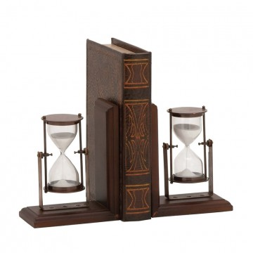 Hour Glass Bookends