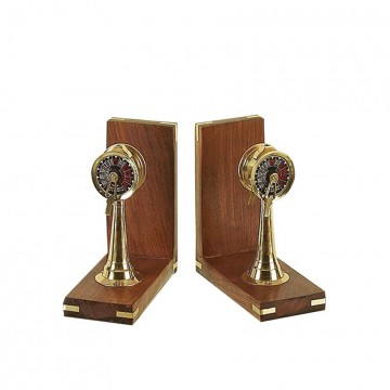 Compass Bookends