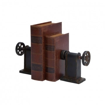 Wheels Bookends